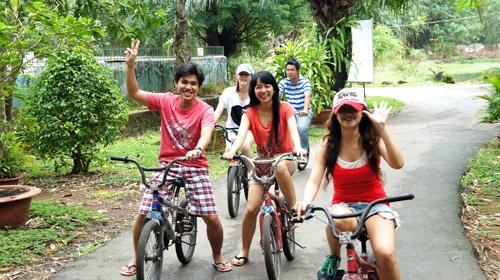 Sài Gòn cuối tuần kéo nhau xuống Vườn Xoài tận hưởng không gian xanh - 5