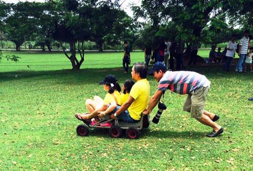 Sài Gòn cuối tuần kéo nhau xuống Vườn Xoài tận hưởng không gian xanh - 7