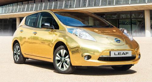Nissan tặng ôtô vàng cho nhà vô địch điền kinh Paralympic 2016 - 1