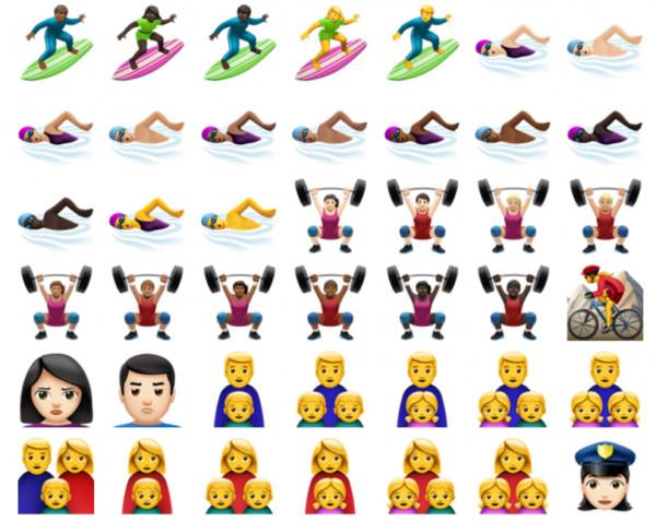 Soi bộ sưu tập biểu tượng emoji trên iOS 10 - 8