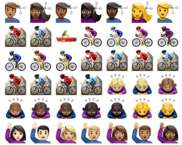 Soi bộ sưu tập biểu tượng emoji trên iOS 10 - 11