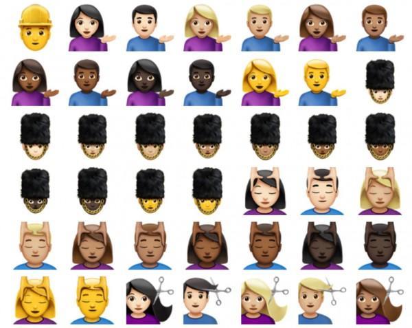 Soi bộ sưu tập biểu tượng emoji trên iOS 10 - 10