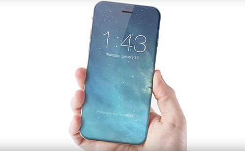 iPhone 8 của Apple có màn hình tràn cạnh, nút home ảo - 1