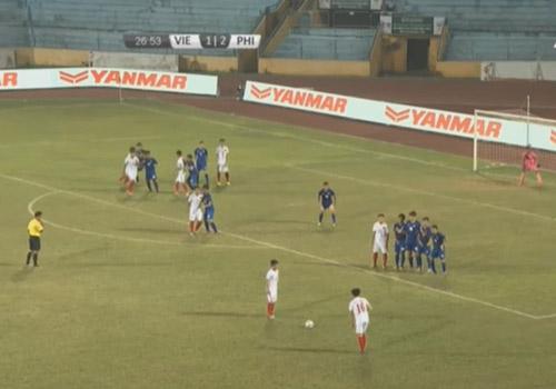 U19 Việt Nam - U19 Philippines: Bất ngờ chật vật - 1