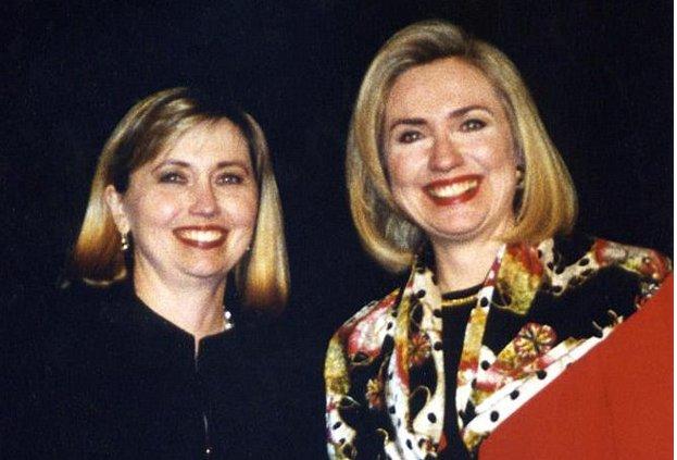 Người phụ nữ chuyên đóng giả bà Clinton kiếm bộn tiền - 1