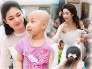 Hoa hậu Mỹ Linh sắm vai chị Hằng yêu thương bệnh nhi