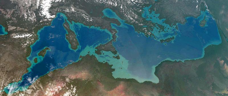 Nếu phe phát xít thắng, Địa Trung Hải có thể bị tát cạn - 1