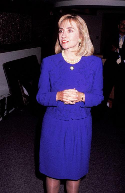 Soi phong cách thời trang của ứng viên TT Mỹ Hillary - 7