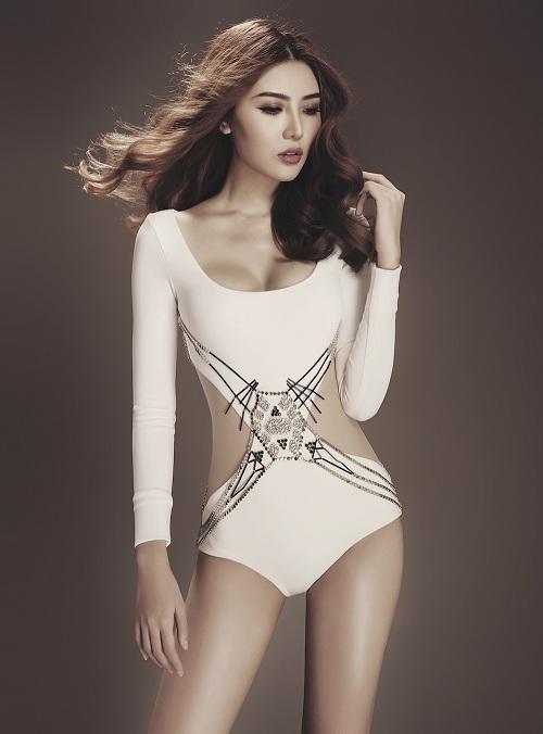 Giải đồng siêu mẫu Việt 2015 hóa chiến binh gợi cảm - 5
