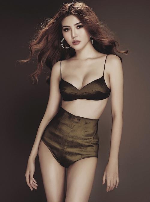 Giải đồng siêu mẫu Việt 2015 hóa chiến binh gợi cảm - 9
