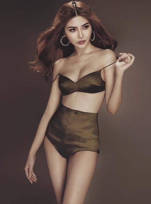 Giải đồng siêu mẫu Việt 2015 hóa chiến binh gợi cảm - 10