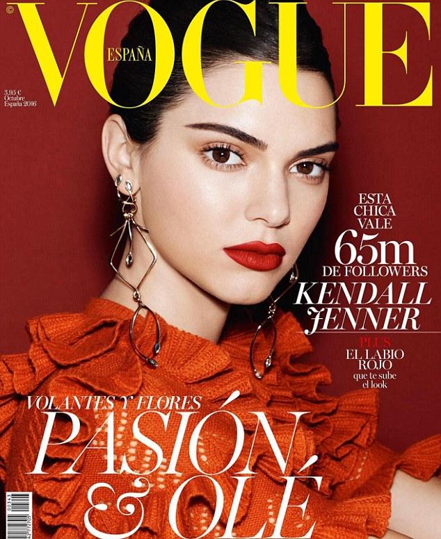 Kendall tiếp tục lên bìa tạp chí lừng danh Vogue - 1