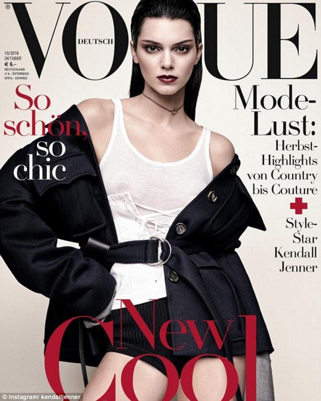 Kendall tiếp tục lên bìa tạp chí lừng danh Vogue - 4