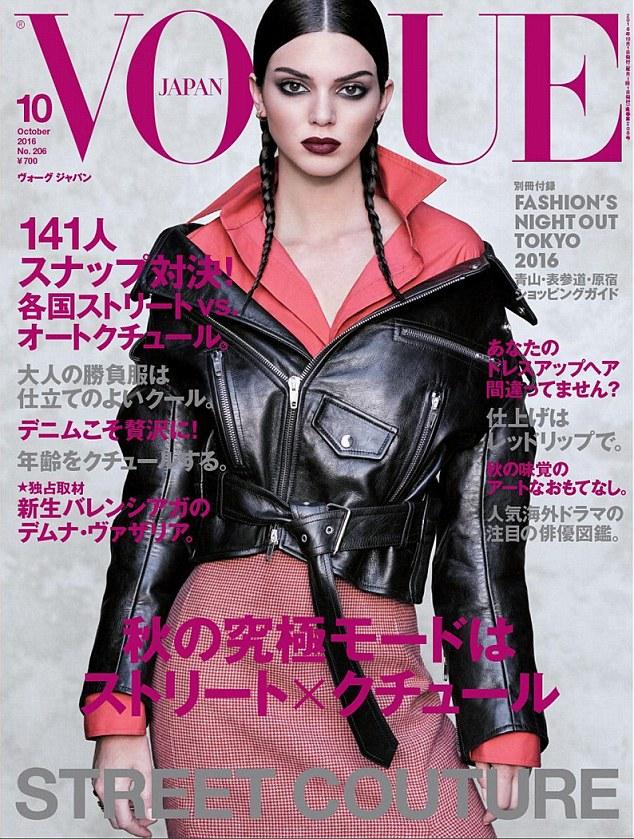 Kendall tiếp tục lên bìa tạp chí lừng danh Vogue - 3