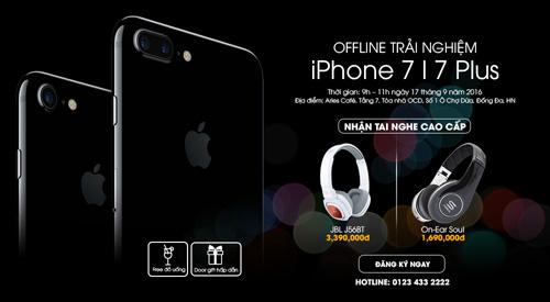 """Thị trường Việt """"náo loạn"""" ngày đầu có iPhone 7 - 5"""