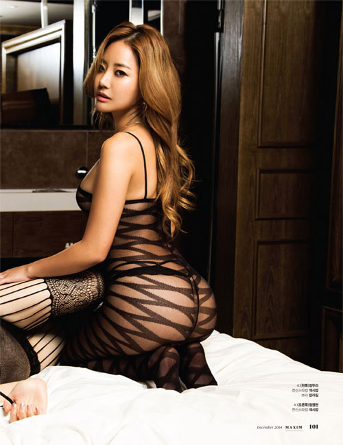 Mẫu tạp chí đàn ông xứ Hàn gây sốt nhờ vòng mông 93 cm - 11