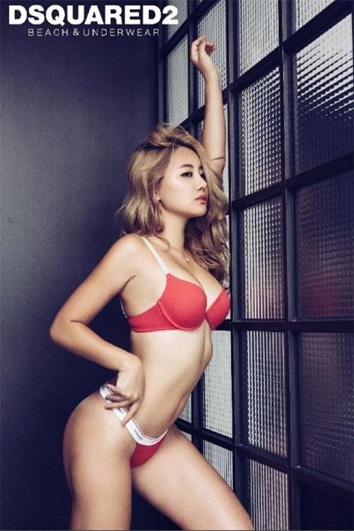 Mẫu tạp chí đàn ông xứ Hàn gây sốt nhờ vòng mông 93 cm - 13