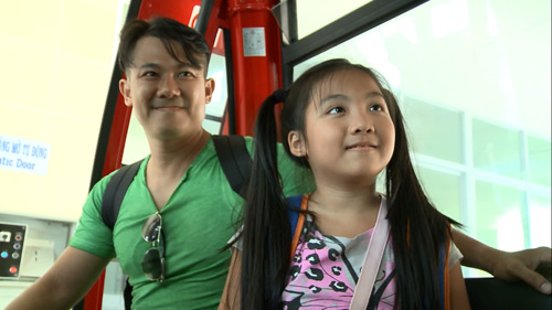Vân Quang Long – Thụy Vũ AC&M cùng con tham gia truyền hình thực tế - 5