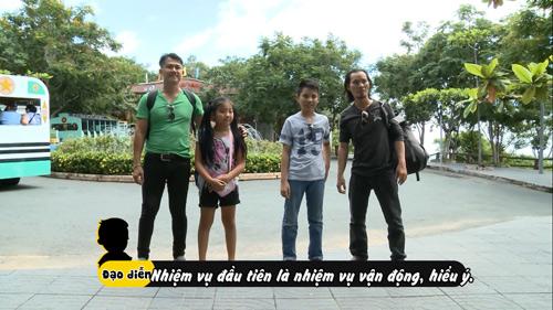 Vân Quang Long – Thụy Vũ AC&M cùng con tham gia truyền hình thực tế - 2
