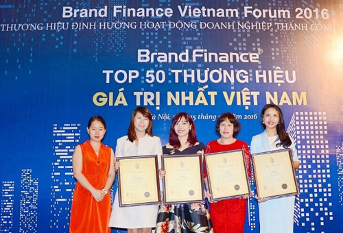 Vingroup sở hữu 5 danh hiệu Thương hiệu Giá trị nhất Việt Nam - 1