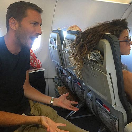 Đắng lòng khi gặp những cảnh này trên chuyến bay - 9