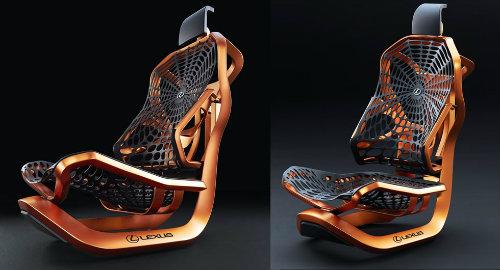 Lộ ảnh ghế ngồi vương giả siêu sang cho xe Lexus - 1