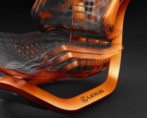 Lộ ảnh ghế ngồi vương giả siêu sang cho xe Lexus - 7