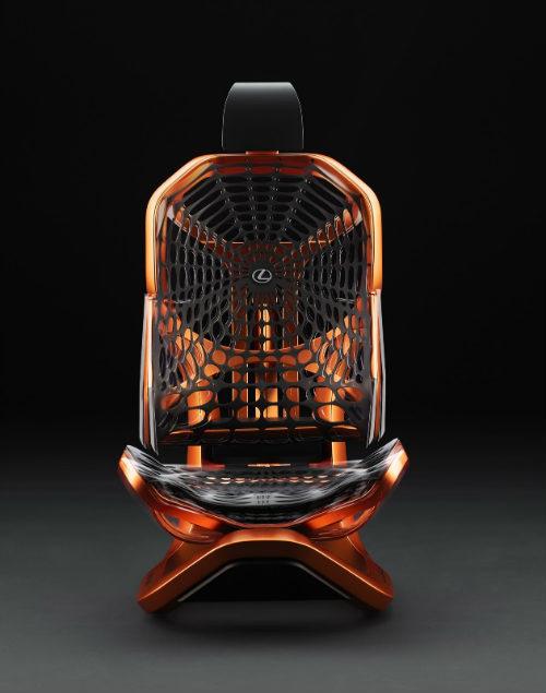 Lộ ảnh ghế ngồi vương giả siêu sang cho xe Lexus - 9