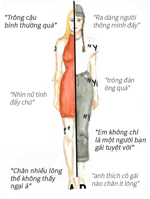 Phụ nữ bị đánh giá thế nào qua cách ăn mặc? - 2