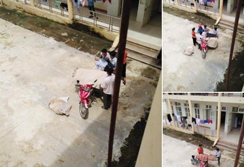 Xuất hiện thêm trường hợp chở xác bằng xe máy ở Sơn La - 1