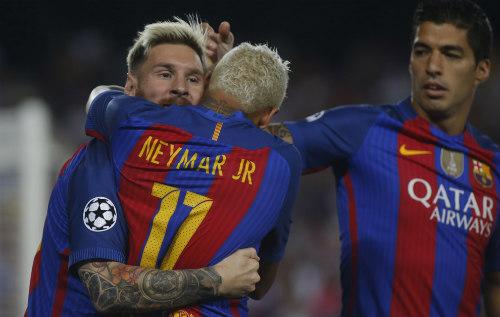 """Bộ ba """"MSN"""" 266 bàn: """"Quả bộc phá"""" của Barca - 1"""