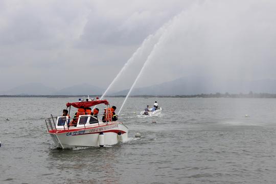 Vũng Tàu được trang bị tàu chữa cháy trên sông - 1
