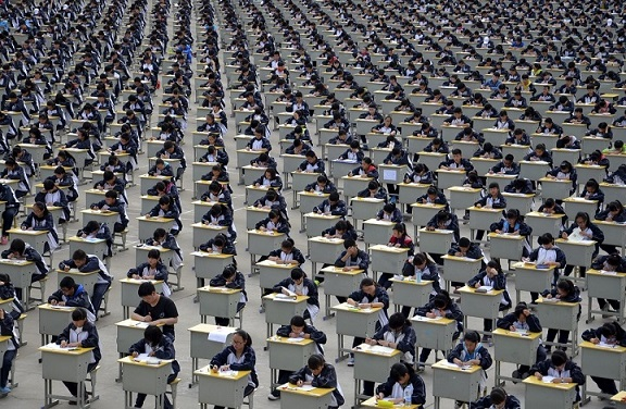 23 bức ảnh cho thấy Trung Quốc đông dân đến nghẹt thở - 2