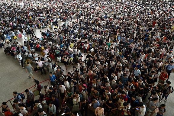 23 bức ảnh cho thấy Trung Quốc đông dân đến nghẹt thở - 8