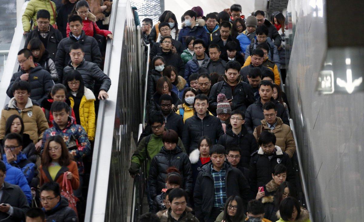 23 bức ảnh cho thấy Trung Quốc đông dân đến nghẹt thở - 6