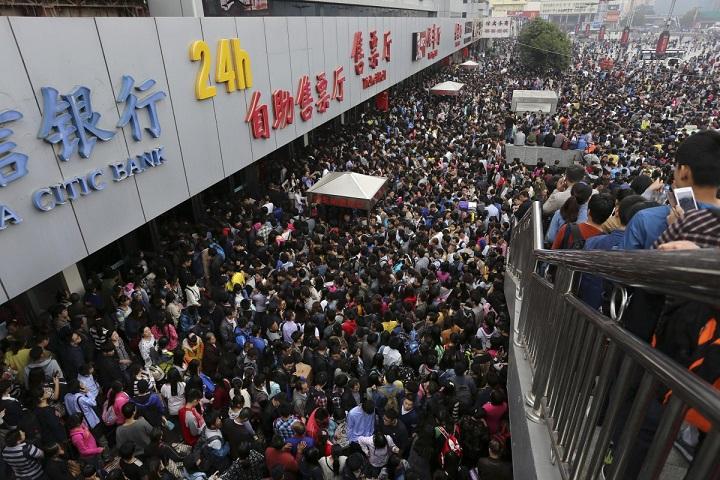 23 bức ảnh cho thấy Trung Quốc đông dân đến nghẹt thở - 10