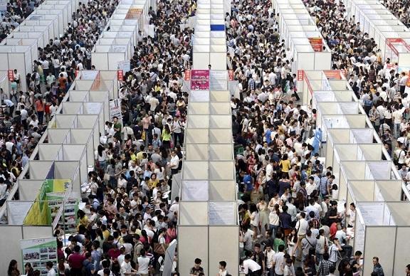 23 bức ảnh cho thấy Trung Quốc đông dân đến nghẹt thở - 13