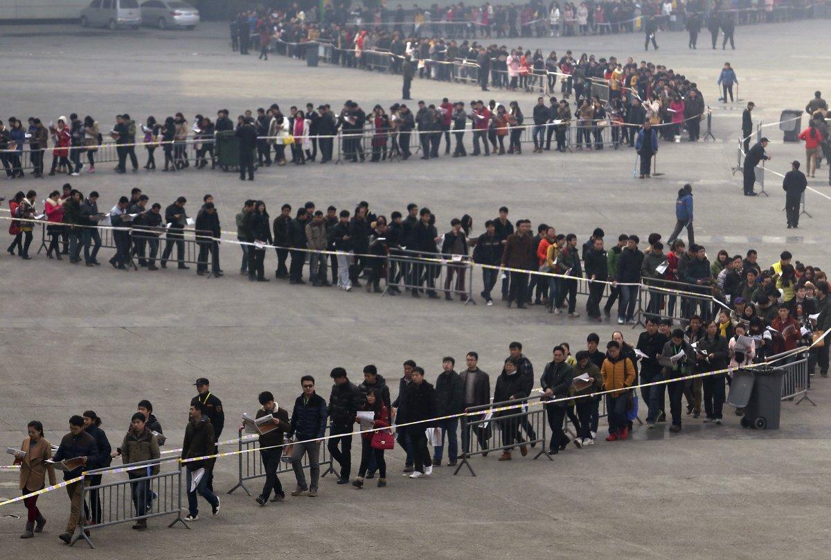 23 bức ảnh cho thấy Trung Quốc đông dân đến nghẹt thở - 12