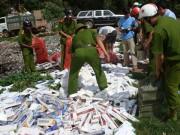 An ninh Xã hội - Nhóm buôn lậu cướp tang vật, đánh chết quản lý thị trường