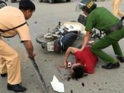 An ninh Xã hội - Làm rõ danh tính kẻ ngáo đá cướp hàng loạt xe trên đường