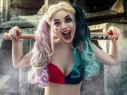 """Bạn trẻ - Cuộc sống - Linh Miu gợi cảm hóa thân thành """"ác nữ"""" Harley Quinn"""
