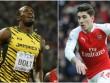 Bellerin lần 2 thách đấu U.Bolt: Chờ đợi quyết chiến
