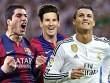 Ronaldo, Messi, Suarez đọ siêu phẩm ở cúp C1