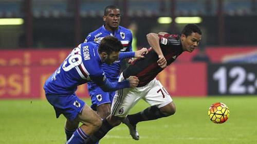Sampdoria - AC Milan: Căng thẳng đến phút cuối cùng - 1