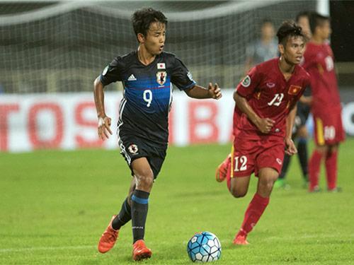 """""""Messi Nhật"""" được khen với siêu phẩm xé lưới U16 VN - 1"""