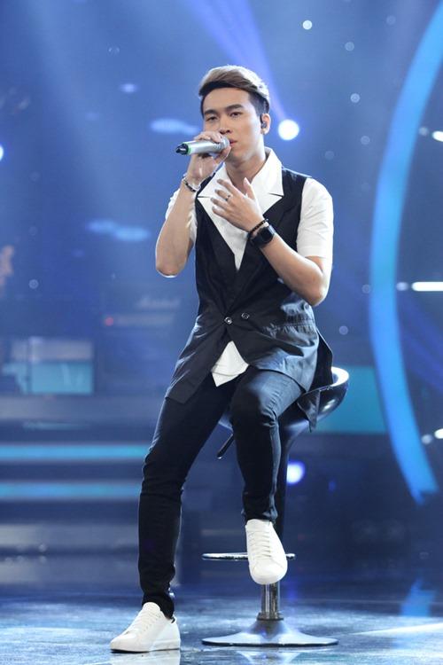 """Huy Tuấn """"tát"""" thí sinh VN Idol trên sóng truyền hình - 11"""