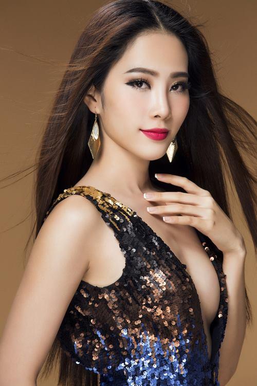 """Nam Em """"nóng từng cm"""" trước khi thi Hoa hậu Trái đất - 2"""