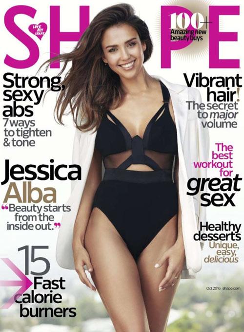 Jessica Alba quyến rũ chết người trên tạp chí - 2