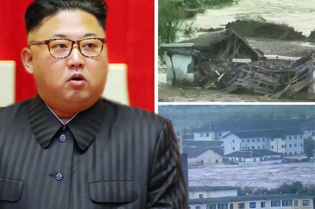 Triều Tiên điều gánh xiếc mua vui cho nạn nhân lũ lụt - 1