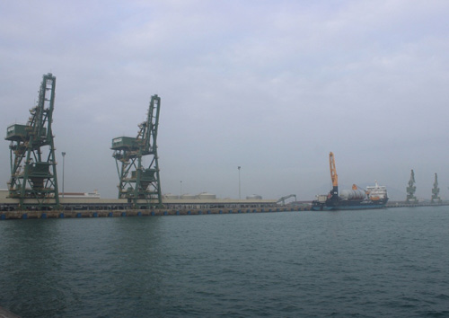 Đã thông quan 70 tấn bùn bô xít Formosa nhập từ TQ - 1